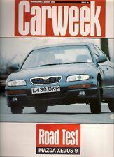 Mazda Xedos 9 2.5 V6 1994 UK Market Road Test Brochure Carweek
