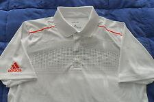 nwt~Adidas ADIPURE POLO PRINTED MODERN Tennis Shirt adizero golf barricade~Men M