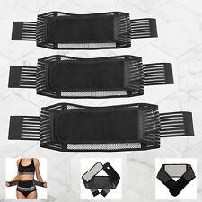 Self Heating Tourmaline Lower Back Belt Support Wrap Lumbar Waist Massage