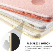 for APPLE IPHONE X - Hard TPU Rubber Gummy Skin Case Cover Shiny Glitter Blings