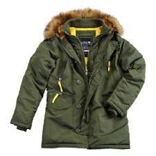 Alpha Industries-pps n3b invierno chaqueta dark green