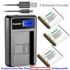 Kastar Battery LCD Charger for Kodak KLIC-7001 & Kodak EasyShare M753 Zoom