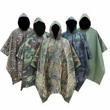 Military Camo Raincoat Waterproof Impermeable Men Motorcycle Poncho Rain Gear