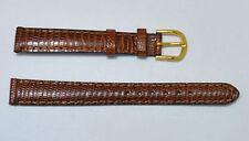 bracelet montre lézard véritable gold 12mm