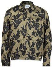 NEW Wood Wood Vali Jacket sz S XL Plant Life Tropical Bomber 300€ Olive Green