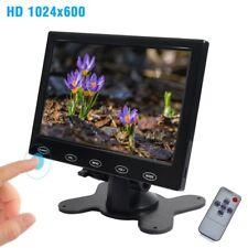 """7""""/9""""/10"""" Touch Button 1080P HDMI AV VGA  RCA TFT LCD Monitor for PC POS Car DVD"""