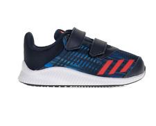 Scarpe Adidas FortaRun Cf I Td BA9462 Bambino Sportive Pelle Tela Strappo Nuovo