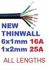 7 Core Automotriz cable de remolque remolque cable thinwall multinúcleo Heavy Duty 12v