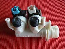 GENUINE HOTPOINT / INDESIT TWO-WAY WASHING MACHINE COLD WATER VALVE  C00110333
