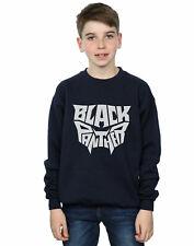 Marvel Garçon Black Panther Worded Emblem Sweat-Shirt