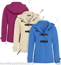 Donna Inverno Montgomery Cappuccio Cappotto Giacca Trench Size 8 10 12 14 Lana