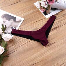Men's Mesh Bikini G-string Thong Briefs Underwear Open Back Jockstrap Underpants