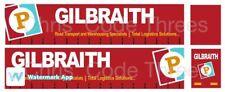 Code 3 Adhesive Vinyl Trailer Decal - Gilbraith - 1/50 1/76 1/148