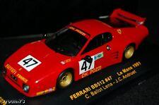 FERRARI 1/43 512 BB # 47 POZZI - LE MANS 1980 - IXO LMC078