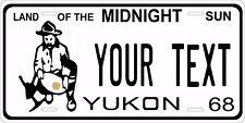 Yukon Canada 1968 License Plate Personalized Custom Car Bike Motorcycle Moped