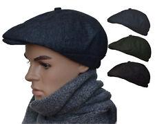 Newsboycap Gatsby Ballonmütze Wintercap Wollcap Schiebermütze Schirmmütze B03