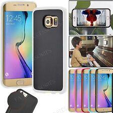For Galaxy S7 S7 Edge S6 S6 Edge S5 Sticky Case Anti Gravity Nano Suction Cover