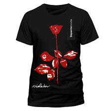 Depeche Mode Camiseta violador licencia oficial para hombre Negro Tee Unisex Rock