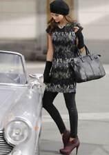 Chillytime Chiffon-Kleid, schwarz-bunt Gr 36 38 40 42  UVP: € 51.99