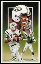 1990 Legends Postcard - Joe Namath NEAR MINT - New York Jets - HOF