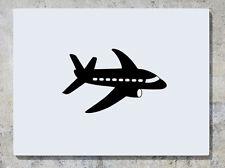 Aeroplano - AEREO - Camera da letto Nursery DECALCOMANIA ADESIVO ARTISTICO