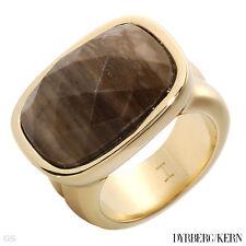 DYRBERG/KERN of DENMARK! Malindi Collection New Shiny Gold Finish Plating Ring