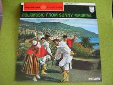 LP FOLKMUSIC FROM SUNNY MADEIRA-BOA NOVA-PHILIPS-831233