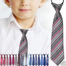 CRAVATTA BAMBINO cravattino 2/16 anni seppia mod1 ENTRA TANTI COLORI art D0481