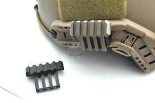 FMA Airsoft mich Helmet 20mm Rail 45 Degree Side RAil Mount Helmet guide DE/BK