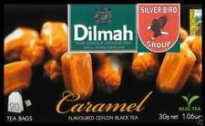 1/2/3 x 20 bustina del tè Dilmah Caramel flavoured black Fun Tea Ceylon Tè CARAMELLO