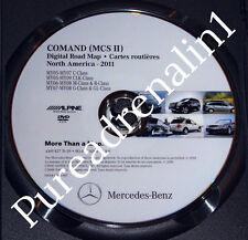 2007 MERCEDES GL320 GL450 GL550 AMG NAVIGATION COMAND GPS NAV DISC CD DVD 2011