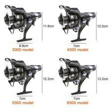 11+1BB Aluminum Dual Brake System Bait Casting Fishing Reel for Carp Sea Fishing