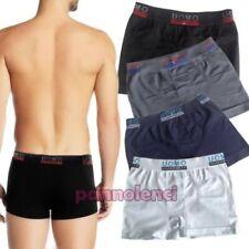 Boxer hombre calzoncillos básico microfibra deporte intimo pantalones cortos