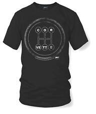 Corvette Manual Stick Shift Knob T-Shirt