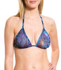 Kiniki Blue Amalfi Tan Through Bikini Top