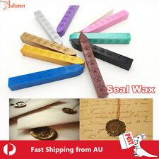 New Arrive 12 Color! Sealing Wax Stick Letter Stamp Seal Melting Candle Envelope