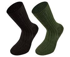 Combat Sock Black, Olive - British Army Style Combat Sock Military Walking Trekk