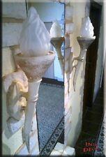 2 x Ägyptische Fackel Lampe Wandlampe Wandfackel Wandleuchte Leuchte Kunstharz