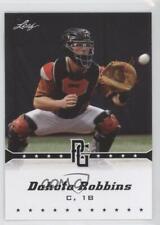 2013 Leaf Perfect Game Showcase #222 Dakota Robbins Rookie Baseball Card