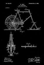 1899 - Ice Velocipede - W. Guay - Patent Art Poster