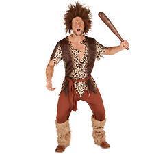 Herrenkostüm Steinzeitmann Höhlenmensch Urmensch Neandertaler Steinzeit Fasching