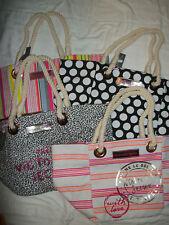 NWT Victoria's Secret Pink Supermodel Beach School Tote Travel Bag