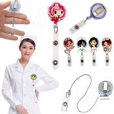 Retractable Badge Reel Krankenschwester Ausstellung ID Name Card Badge Holder