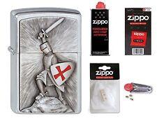 Zippo Briquet croisade templiers Victory Emblème avec ou sans accessoires au choix