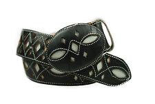 Men's Cowboy Belt Resaque Black