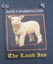 1:12 scala dell' agnello LOCANDA PUB segno DOLLS HOUSE miniatura BAR-Tavern Accessorio