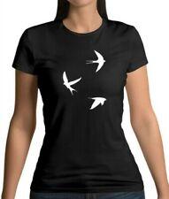 Swallows - Womens T-Shirt - Bird - Love - Tattoo - Birds - Sailor - Present-Gift
