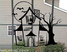 Haunted House ~ Halloween Wall or Window Decal