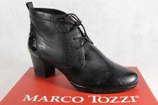 Marco tozzi stivali da donna Stivali Stivaletti Stivaletto stringato, cuoio, 25106 NUOVO!