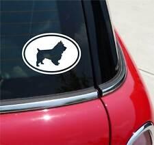 AUSTRALIAN TERRIER DOG GRAPHIC DECAL STICKER ART CAR WALL EURO OVAL